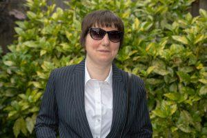 Фото: Ксения Блэйк, специалист по доступности, сотрудник Королевского национального института слепых